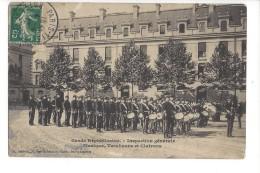 Garde Républicaine Inspection Générale, Musique, Tambours Et Clairons - France