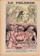 LE PELERIN 21 Août 1898 Rêves De Vacances, Dialogue Des Morts, Boulogne Sur Mer - Le Portel Procession - Livres, BD, Revues