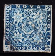 Nova Scotia 1851 3p Used. Scott 3. - Nova Scotia