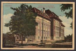 ROMANIA - Timisoara, Temesvar - Polytechnic School, Year 1924, No Stamps - Romania