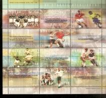 NORGE   2002 WORLD CUP JAPAN AND KOREA SOUVENIR SHET - Coupe Du Monde