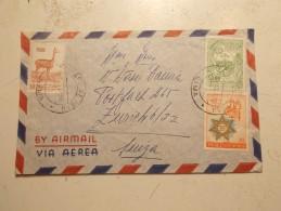 Marcophilie - Lettre Enveloppe Cachet Timbres Oblitération - PEROU - 1960 (77) - Peru