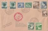 DR Zeppelinbrief Mif Minr.665,669,670,662,663,675,678 Frankfurt 1.12.38 - Briefe U. Dokumente