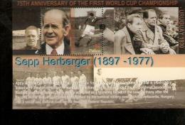 75 Anniversary Of World Cup Soccer Championship PALAU - Fußball-Weltmeisterschaft