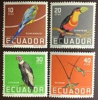 Ecuador Birds 1958 MNH - Vögel