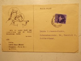 Marcophilie - Lettre Enveloppe Cachet Timbres Oblitération - INDE - (99) - Storia Postale