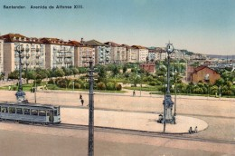 55Nja   Espagne Santander Avenida De Alfonso XIII - Cantabria (Santander)