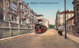 55Nja   Espagne Santander Calle De Juan De La Cosa - Cantabria (Santander)
