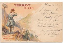 PUBLICITE - Cycles Et Motocycles TERROT, Dijon - Advertising