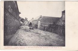 Belgique- Floreffe- Orage, Inondation13 Mai 1906. Aspect De La Route.édit De L'abbé L M. Datée 1906. Tb état - Floreffe