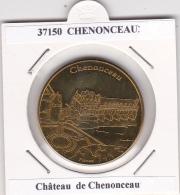 JETON TOURISTIQUE  NATIONAL TOKENS -  37  CHENONCEAU   - LE CHATEAU - Otros