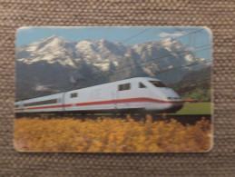 Germany, Deutschland, S 15 11 96, 2 Telefonkarten, 2 Phonecards, Zug, Eisenbahn, Inter City Express, Train, Used - Treni