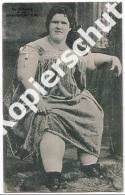 Zur Erinnerung An Das Kolossalmädchen Olga   (z3135) - Donne Celebri