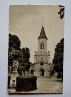 91 -  Cpsm Petit Format - MONTGERON -  L'église - Montgeron