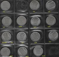 FRANCE 1945-1949 10F Lot De 14 Pièces De Monnaie TURIN / Coin / Münze [I10] - France