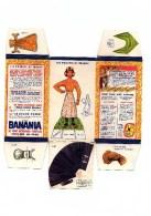 """Boite Banania De 1Kg Série """" Les Poupées De France, Ile De France"""" Des Années 1960. Non Découpé En Bon état - Advertising"""