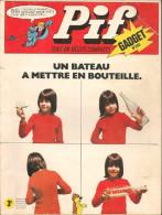 Pif Gadget N° 243 De Oct 1973 - Avec Rahan, Gai-Luron, Famille Fohal, Jungle En Folie, Horace, Loup Noir. Revue En BE - Pif & Hercule