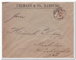 Brief Uhlmann & Co Hamburg1891 - Germania