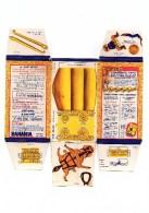 """Boite Banania De 1Kg Série """" Le Far-West , Le Chariot """" Des Années 1960. Non Découpé En Bon état - Advertising"""