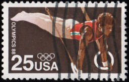 UNITED STATES - Scott #2380 Seoul '88 Olympic Games, Gymnastic Rings (*) / Used Stamp - Summer 1988: Seoul