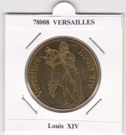 JETON TOURISTIQUE  NATIONAL TOKENS -   78  VERSAILLES - LOUIS  XIV - Otros