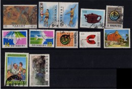 Republic Of China (Taiwan) - 1980´s Small Group (°) - Oblitérés