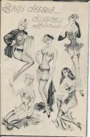 Revue . Erotique D´Apres Guerre  De 30 Pages Manque Pages De Couverture - Livres, BD, Revues
