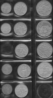 FRANCE 1941-1944 50c 1F 2F Lot De 13 Pièces De Monnaie / Coin / Münze [I11] Bazor - France