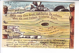 GERMANY HUMOR Mechanical Card - Mechanical