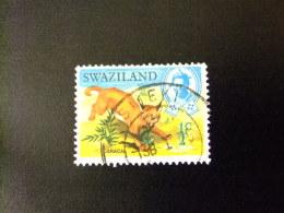 SWAZILAND 1969 SERIE COURANTE ,ROI SOBHUZA II  Yvert Nº 161 º FU - Swaziland (1968-...)