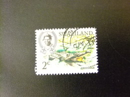 SWAZILAND 1969 SERIE COURANTE ,ROI SOBHUZA II  Yvert Nº 163 º FU - Swaziland (1968-...)