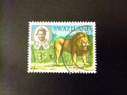 SWAZILAND 1969 SERIE COURANTE ,ROI SOBHUZA II  Yvert Nº 164 º FU - Swaziland (1968-...)
