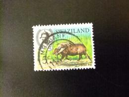 SWAZILAND 1969 SERIE COURANTE ,ROI SOBHUZA II  Yvert Nº 166  º FU - Swaziland (1968-...)