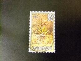 SWAZILAND 1980 FLEURS , ROI SOBHUZA II  Yvert Nº 343 º FU - Swaziland (1968-...)