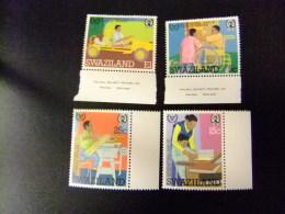 SWAZILAND 1981 ANNÉE INTERNATIONALE Des PERSONES HANDICAPÉS Yvert Nº 385 /  388 ** MNH - Swaziland (1968-...)