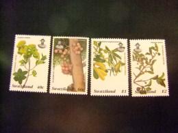 SWAZILAND 1996 FLORE ARBRES Et Leurs FRUITS Yvert Nº 654 / 657 ** MNH - Swaziland (1968-...)