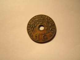 ---1--PIECE--1-centimes-1945-D--INDES-NEERLANDAISES----SUP+- - India