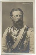 Carte Photo. Kaiser Friedrich III. - Case Reali