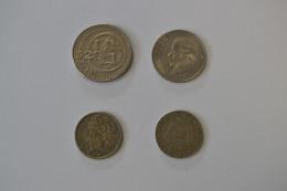 Lotto 4 Monete Brasile - Messico - Altri – America