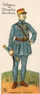 55Nja   Militaria Marechal Petain Collection Chocolat Lombart - Vieux Papiers