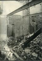 France Ruines De Reims WWI Première Guerre Mondiale Ancienne Photo Wentzell 1919