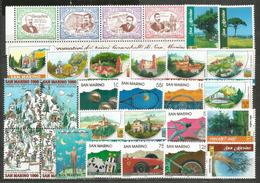 Année 1997  29 Timbres **   Côte 40,00 €uro - San Marino
