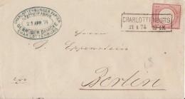 DR Brief EF Minr.19 R2 Charlottenburg 21.4.74 - Deutschland