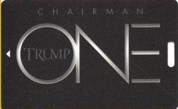 Trump One Atlantic City NJ Casino Slot Card - (I) Over 12.5mm Mag Stripe (BLANK) - Casino Cards