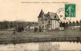 CPA - FONTAINE-les-LUXEUIL (70) - Aspect De La Maison Près De La Papeterie En 1910 - Autres Communes