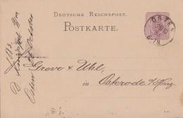 DR Ganzsache K1 Osten 25.10.83 - Deutschland