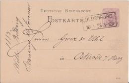 DR Ganzsache R2 Oldenburg 16.1.83 - Deutschland