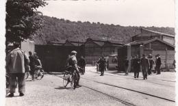 CPSM Dentelée (52)  FRONCLES La Sortie Des Forges Ouvriers Bicyclette - Autres Communes