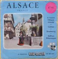 VIEW MASTER  POCHETTE DE 3 DISQUES   C 171    ALSACE - Visionneuses Stéréoscopiques