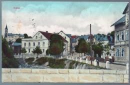 2114 - Ohne Porto - Alte Ansichtskarte - Eulau Bei Bodenbach Děčín Gel O. M. - Sudeten
